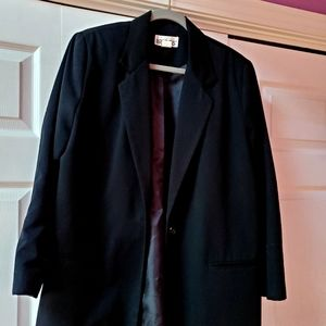 Women's black blazer